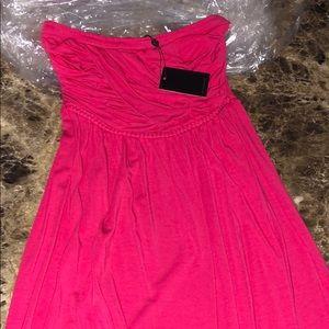 NWT Tarte strapless dress
